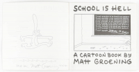 "Matt Groening Signed ""School is Hell"" Book with Sketch Inscribed ""Your Pal"" & ""12 / 14 / 1989"" (Beckett LOA) at PristineAuction.com"