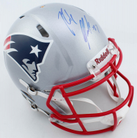 Rob Gronkowski Signed Patriots Full-Size Authentic On-Field Speed Helmet (New England Picture COA) at PristineAuction.com