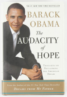 "Barack Obama Signed ""The Audacity of Hope"" Book (Beckett LOA) at PristineAuction.com"