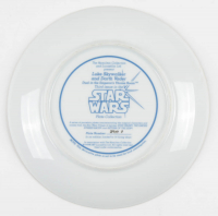 "Mark Hamill & Dave Prowse Signed ""Star Wars"" Plate (Beckett LOA) at PristineAuction.com"