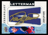 Teemu Selanne 2018-19 Chronology Letterman Patches #LWITS Autograph at PristineAuction.com