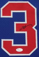 Allen Iverson Signed 35x43 Custom Framed Jersey (JSA COA) at PristineAuction.com