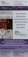 Allen Iverson Signed 35x43 Custom Framed Jersey (JSA COA) at PristineAuction.com