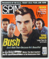 Gavin Rossdale, Nigel Pulsford, Dave Parsons & Robin Goodridge Signed Spin Magazine (Beckett LOA) at PristineAuction.com
