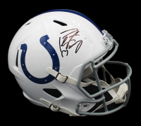 Peyton Manning Signed Colts Full-Size Speed Helmet (Fanatics Hologram) at PristineAuction.com