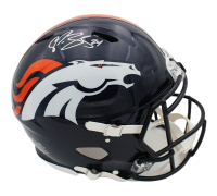 Champ Bailey Signed Broncos Full-Size Authentic On-Field Speed Helmet (Radtke COA) at PristineAuction.com
