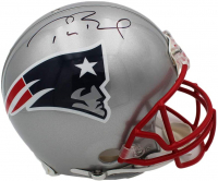 Tom Brady Signed Patriots Full-Size Authentic On-Field Helmet (TriStar Hologram) at PristineAuction.com