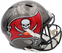 Tom Brady Signed Buccaneers Full-Size Speed Helmet (Fanatics Hologram) at PristineAuction.com