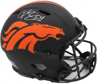 Champ Bailey Signed Broncos Full-Size Authentic On-Field Eclipse Alternate Speed Helmet (Radtke COA) at PristineAuction.com