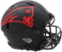 Tom Brady Signed Patriots Full-Size Authentic On-Field Eclipse Alternate Helmet (TriStar Hologram) at PristineAuction.com