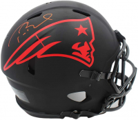 Tom Brady Signed Patriots Full-Size Authentic On-Field Eclipse Alternate Speed Helmet (TriStar Hologram) at PristineAuction.com