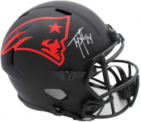 Ty Law Signed Patriots Full-Size Eclipse Alternate Speed Helmet (Radtke COA) at PristineAuction.com