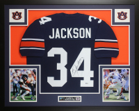 Bo Jackson Signed 35x43 Custom Framed Jersey (Beckett COA) at PristineAuction.com