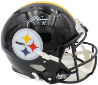 James Harrison Signed Steelers Full-Size Authentic On-Field Speed Helmet (Radtke COA) at PristineAuction.com