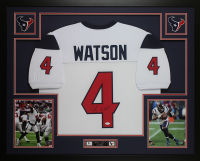 Deshaun Watson Signed 35x43 Custom Framed Jersey Display (JSA COA) at PristineAuction.com