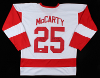 "Darren McCarty Signed Jersey Inscribed ""Sweet Revenge"" & ""3/26/97"" (JSA COA) at PristineAuction.com"