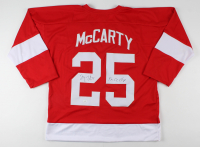 "Darren McCarty Signed Jersey Inscribed ""4x SC Champ"" (JSA COA) at PristineAuction.com"