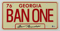 "Burt Reynolds Signed ""Smokey and the Bandit"" 6x12 License Plate (Beckett COA) at PristineAuction.com"