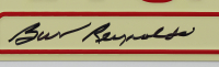 """Burt Reynolds Signed """"Smokey and the Bandit"""" 6x12 License Plate (Beckett COA) at PristineAuction.com"""