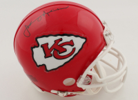 Johnny Robinson Signed Chiefs Mini Helmet (JSA COA) at PristineAuction.com
