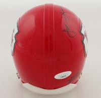 Johnny Robinson Signed Chiefs Mini Helmet (JSA COA) at PristineAuction.com