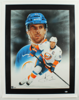 John Tavares Signed Islanders 27.5x34.5 Canvas (Beckett Hologram) at PristineAuction.com