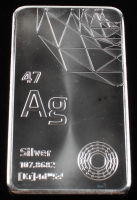 10 Troy Ounces .999 Fine Silver Bullion Bar at PristineAuction.com