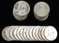 Lot of (40) Washington Silver Quarters at PristineAuction.com