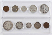 Lot of (2) United States Mint Sets with 1907 & 1946 at PristineAuction.com