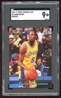 Kobe Bryant 1996-97 Stadium Club Rookies 1 #R12 RC (SGC 9) at PristineAuction.com