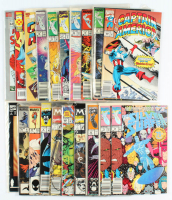 Lot of (20) Marvel Comic Books With Spider-Man, X-Men, The Incredible Hulk at PristineAuction.com