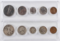 Lot of (2) United States Mint Sets with 1934 & 1936 at PristineAuction.com