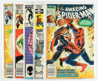 "Lot of (5) 1980-1985 ""The Amazing Spider-Man"" Marvel Comic Books with #234, #235, #264, #208, & #250 at PristineAuction.com"