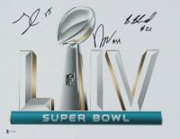 Frank Clark, Damien Wilson & Bashaud Breeland Signed Super Bowl LIIV 11x14 Photo (Beckett COA) at PristineAuction.com
