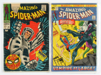 "Lot of (2) ""The Amazing Spider-Man"" Marvel Comic Books with 1968 #58 & 1971 #102 at PristineAuction.com"
