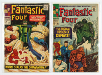 "Lot of (2) 1967 ""Fantastic Four"" Marvel Comic Books with #58 & #61 at PristineAuction.com"