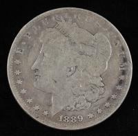 1889-CC Morgan Silver Dollar at PristineAuction.com