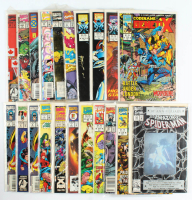 Lot of (20) Marvel Comic Books With The Amazing Spider-Man, The Infinity War, The Infinity Crusade at PristineAuction.com