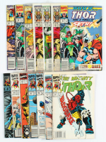 "Lot of (14) ""The Mighty Thor"" Marvel Comic Books at PristineAuction.com"