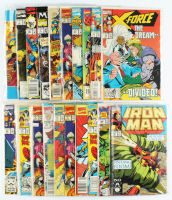 Lot of (20) Marvel Comic Books With Iron Man, X-Men, Captain America, The Incredible Hulk at PristineAuction.com