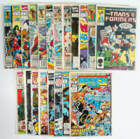Lot of (20) Marvel Comic Books With The Infinity Crusade, The Infinity War, The Transformers at PristineAuction.com