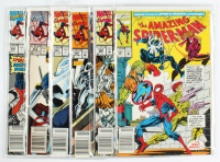 "Lot of (6) ""The Amazing Spider-Man"" Marvel Comic Books at PristineAuction.com"