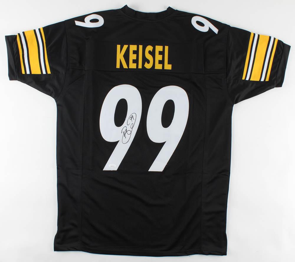 Brett Keisel Signed Jersey (JSA COA)   Pristine Auction