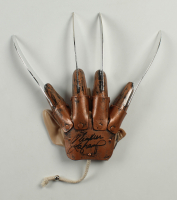 "Heather Langenkamp Signed ""A Nightmare on Elm Street"" Freddy Krueger Replica Glove (JSA COA) at PristineAuction.com"