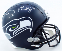 DK Metcalf Signed Seahawks Full-Size Helmet (Beckett COA) at PristineAuction.com