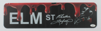 "Heather Langenkamp Signed ""A Nightmare on Elm Street"" 5x18 Street Sign (JSA COA) at PristineAuction.com"