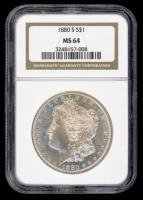 1880-S Morgan Silver Dollar (NGC MS64) at PristineAuction.com