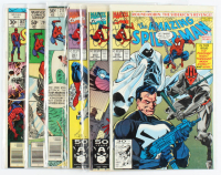 "Lot of (6) 1977-1991 ""The Amazing Spider-Man"" Marvel Comic Books with #167, #209, #211, #351, #353 & #355 at PristineAuction.com"