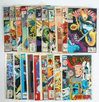 Lot of (20) Marvel Comic Books with Avengers West Coast, Venom, Spider-Man, X-Men at PristineAuction.com