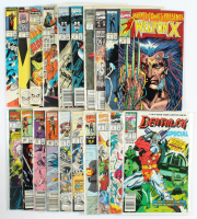 Lot of (20) Marvel Comic Books with Conan The Barbarian, Sabretooth, The Infinity War at PristineAuction.com